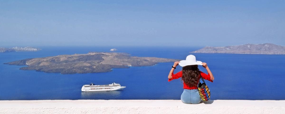 Greece Travel Guide - Magazine cover