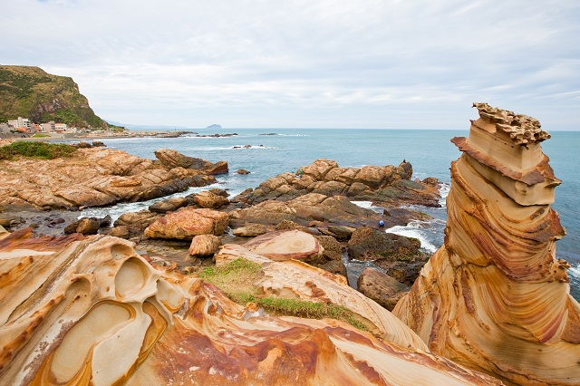 Nanya Rock Formations can be found on the Northeast Coast National Scenic Area