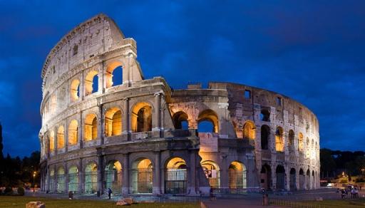 Colosseum, Rome, Paris