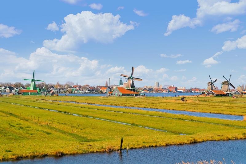 Zaanse Schans, Netherlands