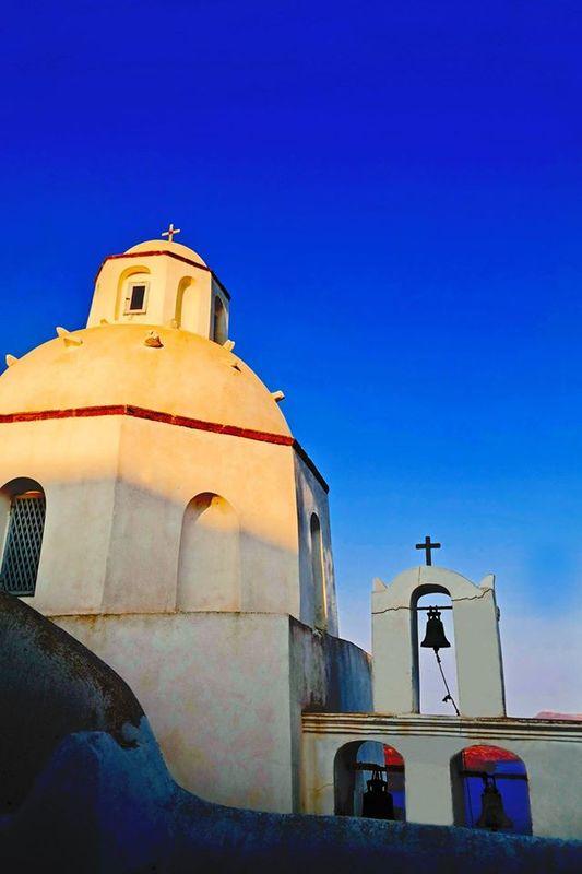 Agios Minas, Fira, Santorini, Greece