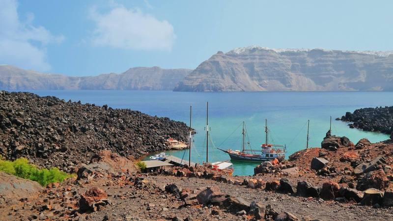 Greece Day 6: Santorini Volcano Tour & 4-Island Cruise