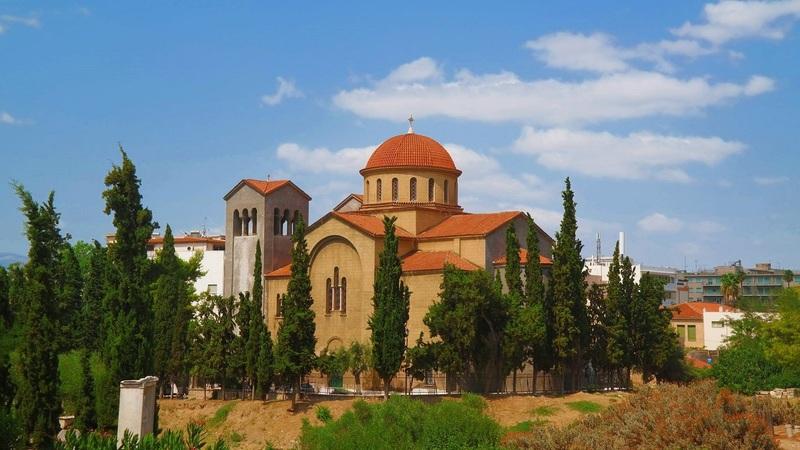 Ekklisia Agia Triada, Athens, Greece