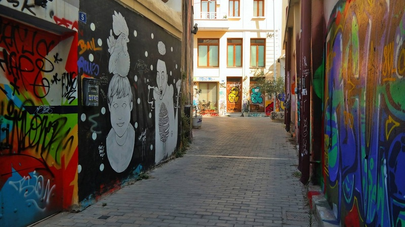 Louka Nika, Psirri, Athens, Greece
