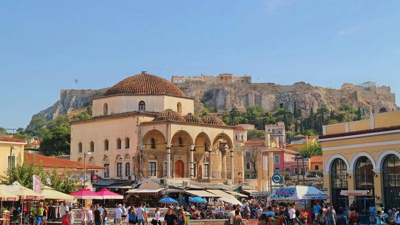 Tzistarakis Mosque, Monastiraki, Athens, Greece