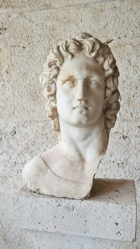 Greece Day 9: Faces of Agora Archaeological Museum