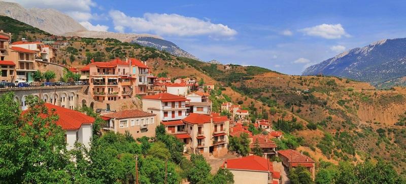 Arachova, Delphi, Greece