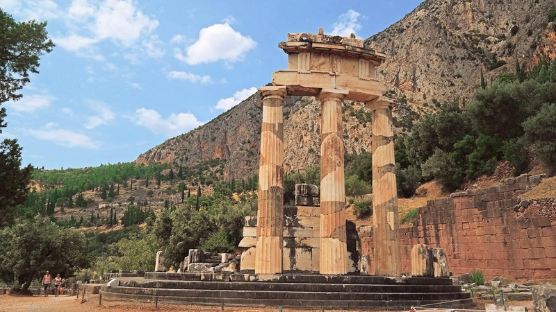 Greece Day 10: The Oracle of Delphi at Mount Parnassus