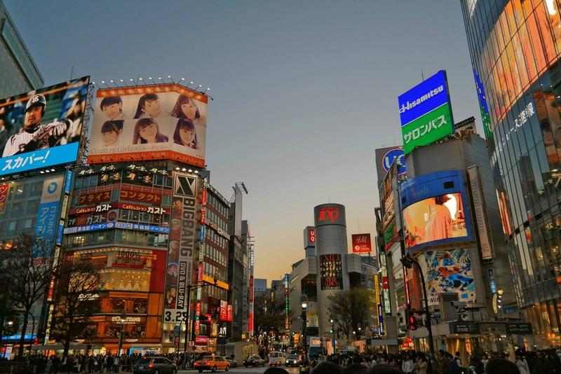 Japan Day 1: Shibuya, Akihabara & Street Scenes