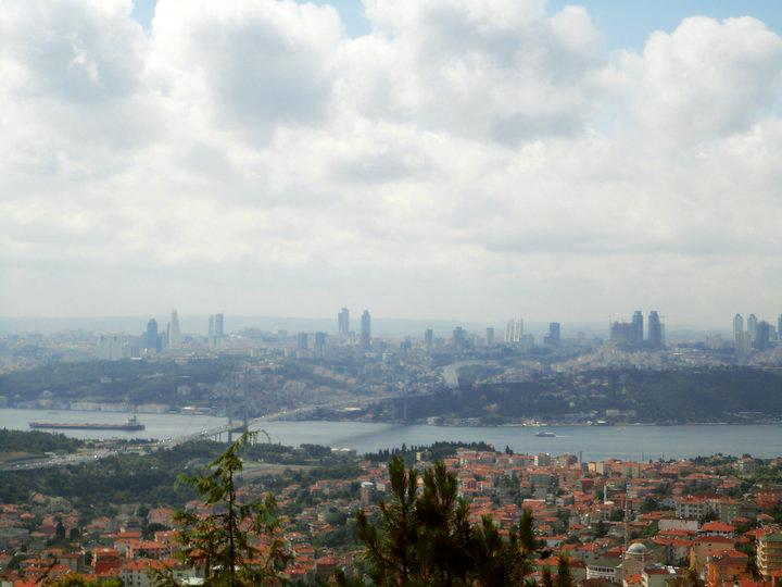 Camlica Hill, Uskudar, Istanbul, Turkey