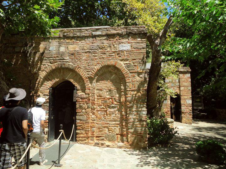 House of the Virgin Mary, Selcuk, Izmir, Turkey
