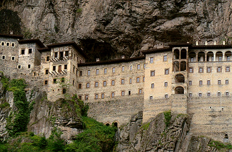 Sumela Monastery, Macka, Trabzon, Turkey