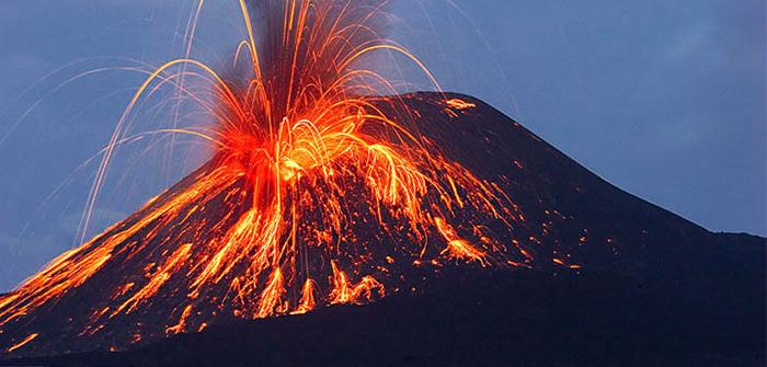 Mount Krakatau, Lampung, Indonesia