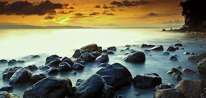 Bula Beach, Ternate, North Maluku, Indonesia