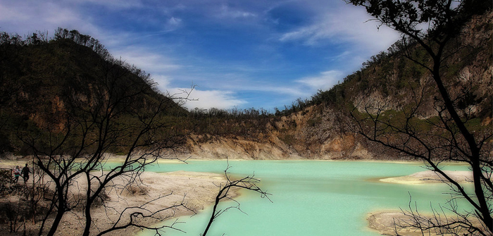 White Crater, Bandung, West Java, Indonesia