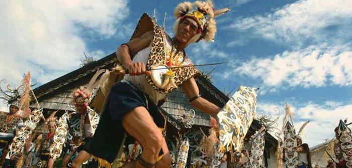 Dayak Dance, West Kalimantan, Indonesia