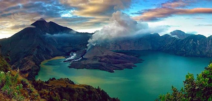 Mount Rinjani, West Nusa Tenggara, Indonesia