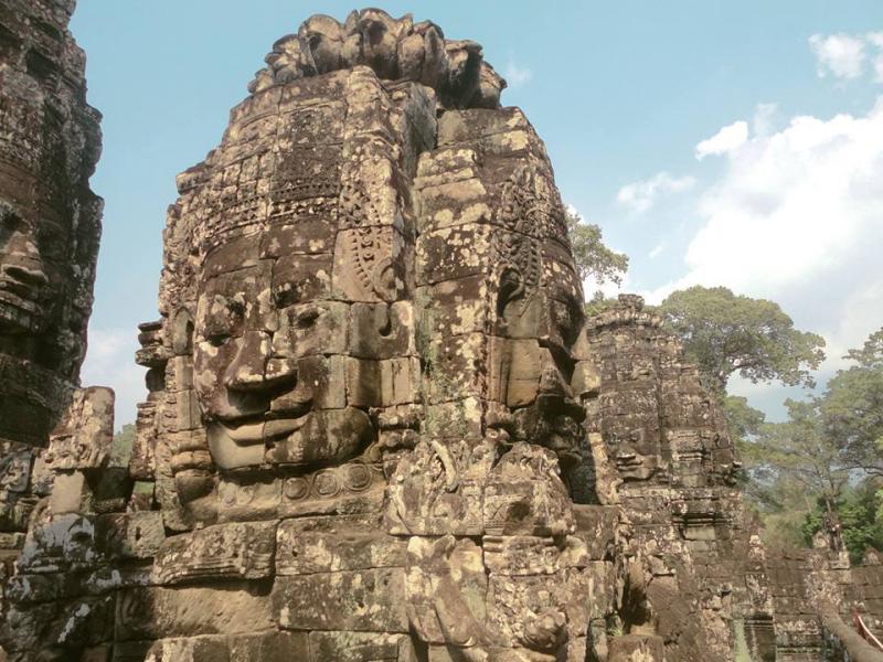 Bayon, Angkor Thom, Siem Reap, Cambodia