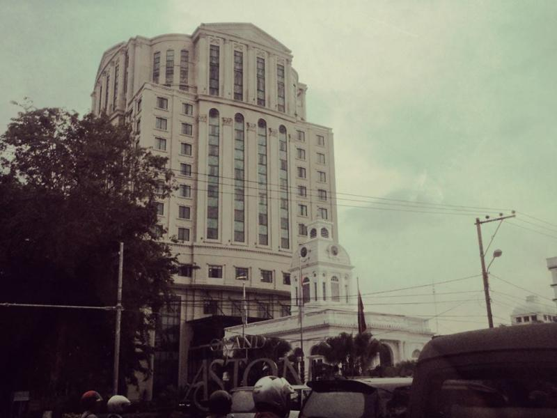 Grand Aston City Hall in Medan, Indonesia
