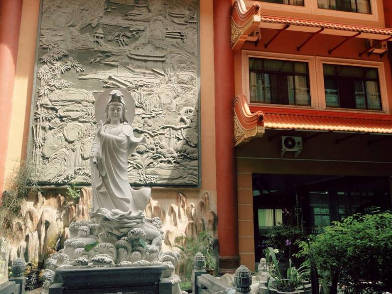 Maha Vihara Adhi Maitreya, Cemara Asri, Medan, North Sumatra, Indonesia