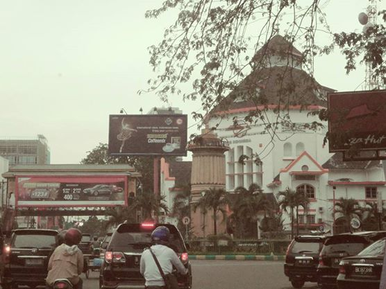 The Post Office in Medan, Indonesia