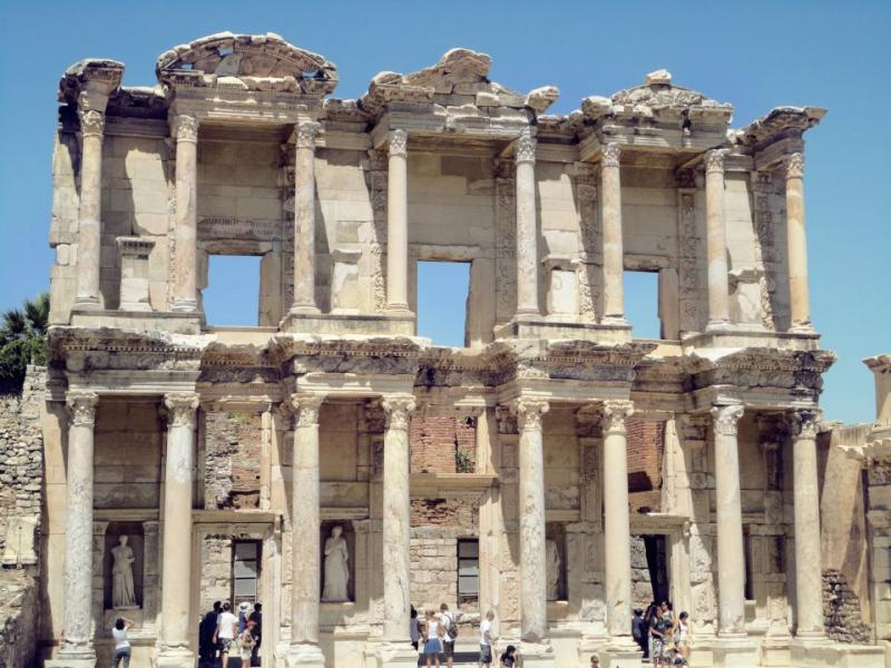 Ephesus & Library of Celsus: How I Fell in Love with Ruins