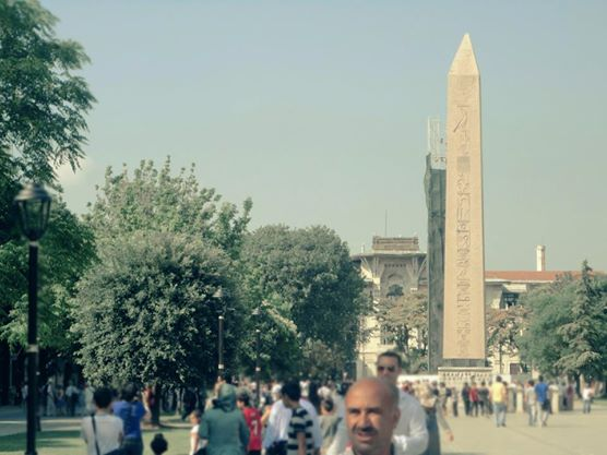 Obelisk of Theodosius, Hippodrome of Constantinople, Istanbul, Turkey