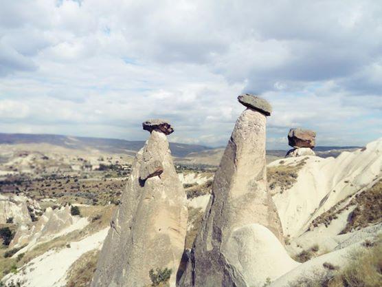 Three Beauties, Urgup, Cappadocia, Turkey