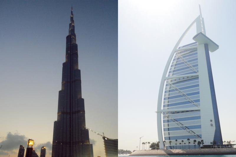 Bigger dubai icon burj khalifa or burj al arab scarlet for Burj al khalifa hotel