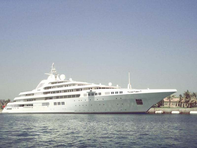 Called 'Dubai', this yacht is owned by Sheikh Mohammed bin Rashid Al Maktoum