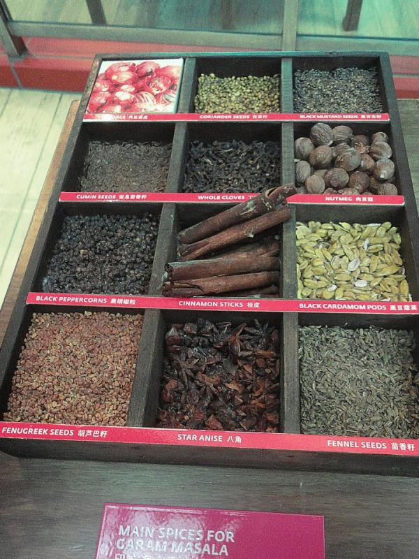 India's Spices at the Maritime Experiential Museum Sentosa