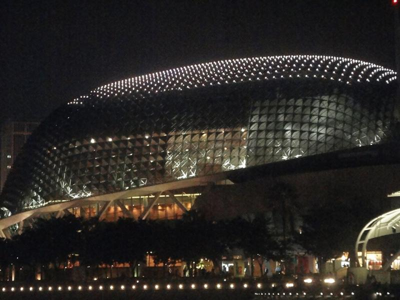 Esplanade Theatres on the Bay as seen during Singapore River Cruise