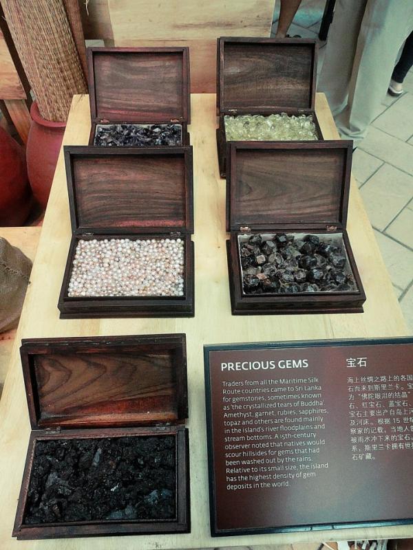 Sri Lanka's Precious Gems at the Maritime Experiential Museum Sentosa