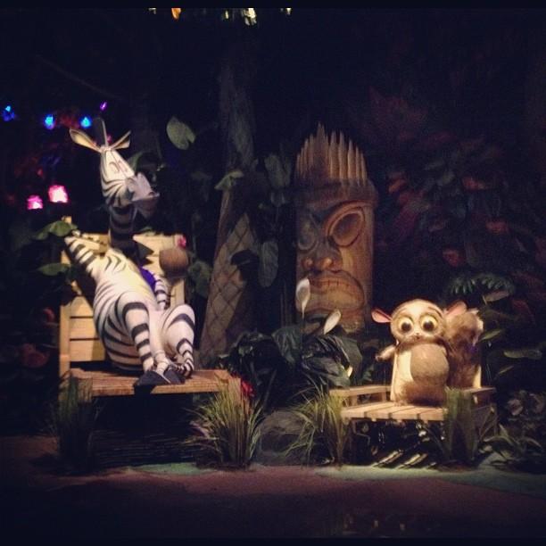 Madagascar in Universal Studios Singapore of Resorts World Sentosa