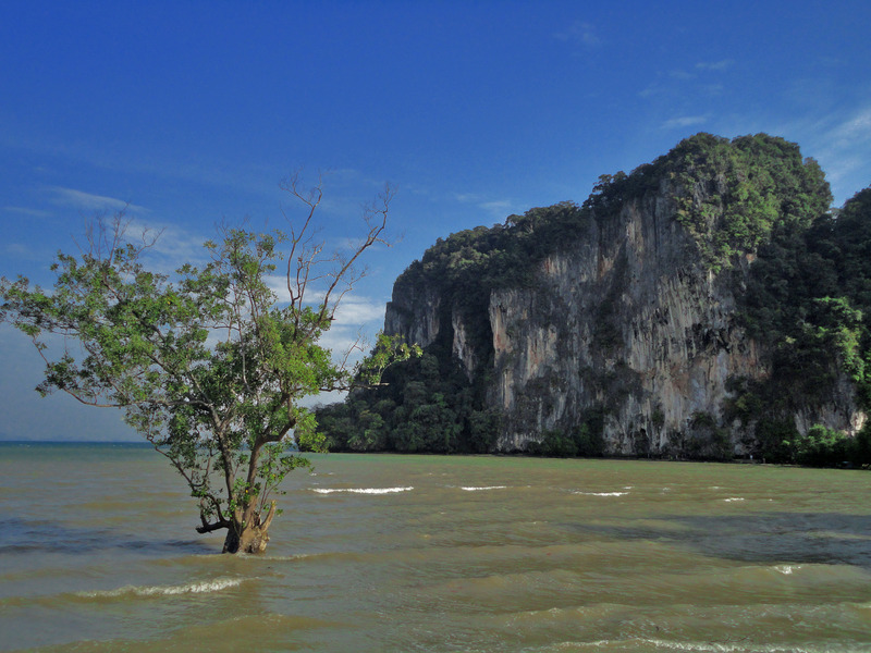East Railay Beach, Rai Leh, Krabi, Thailand