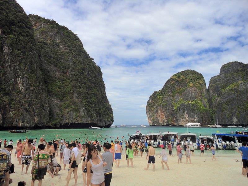 Maya Bay, Phi Phi Islands, Krabi, Thailand