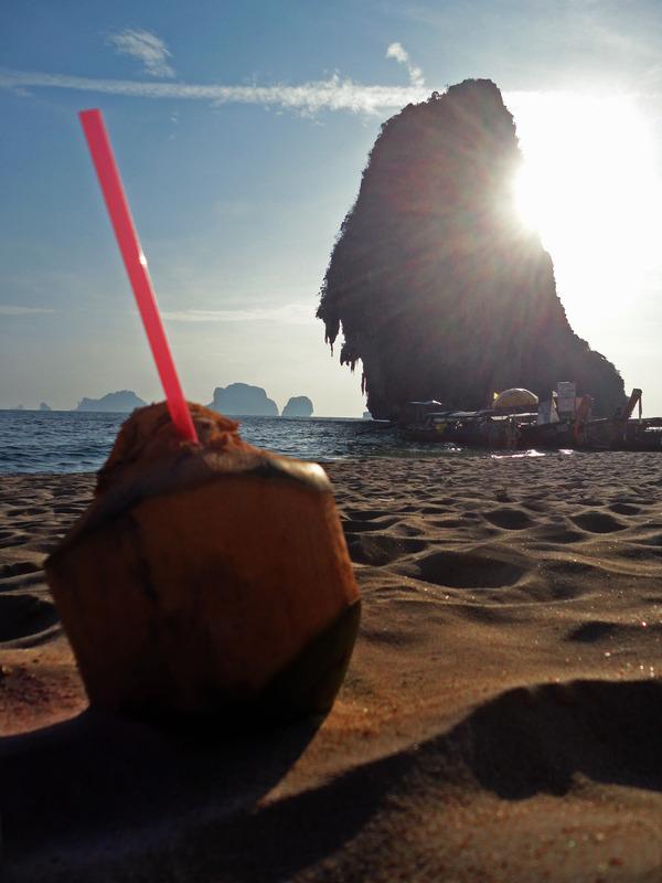 Phra Nang Cave Beach, Rai Leh, Krabi, Thailand
