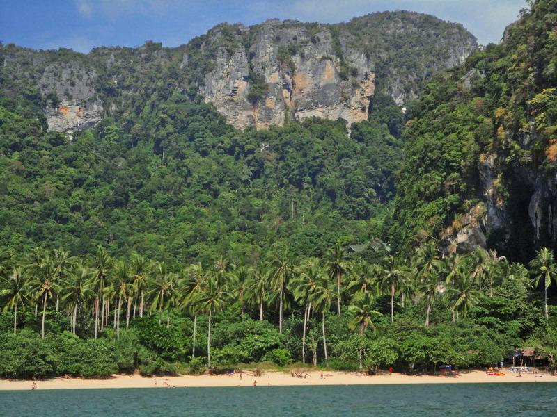 Ton Sai Beach, Rai Leh, Krabi, Thailand