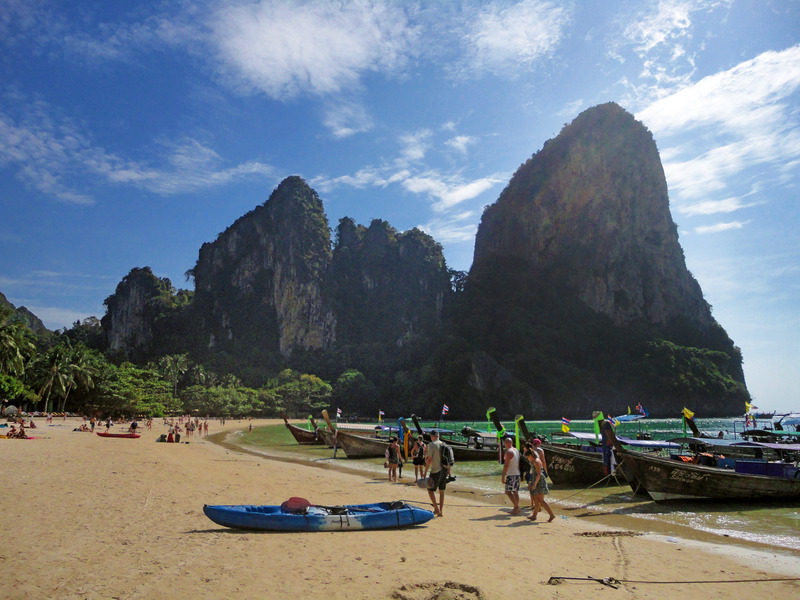 West Railay Beach, Rai Leh, Krabi, Thailand