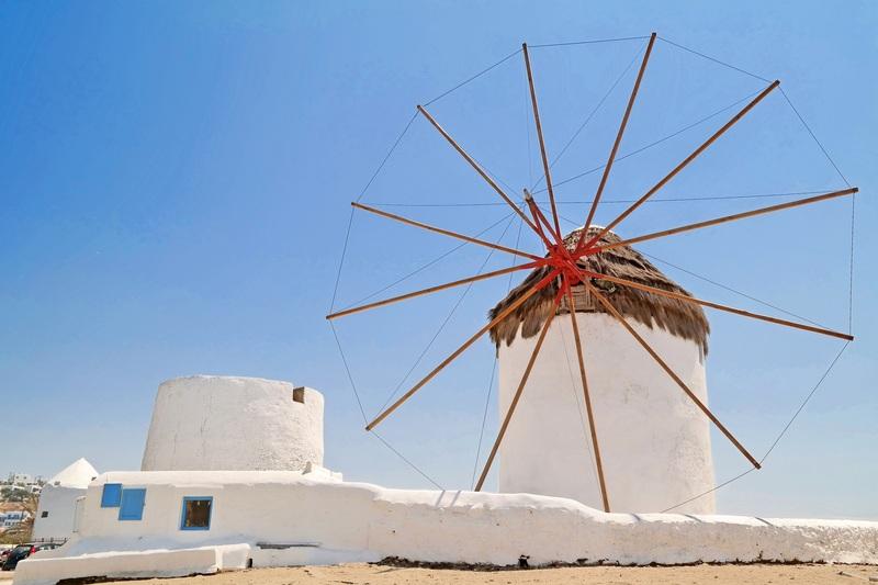 Kato Mili, Mykonos, Greece