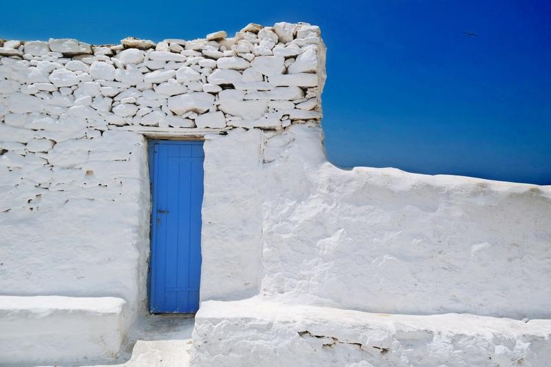 Panagia Paraportiani, Mykonos, Greece