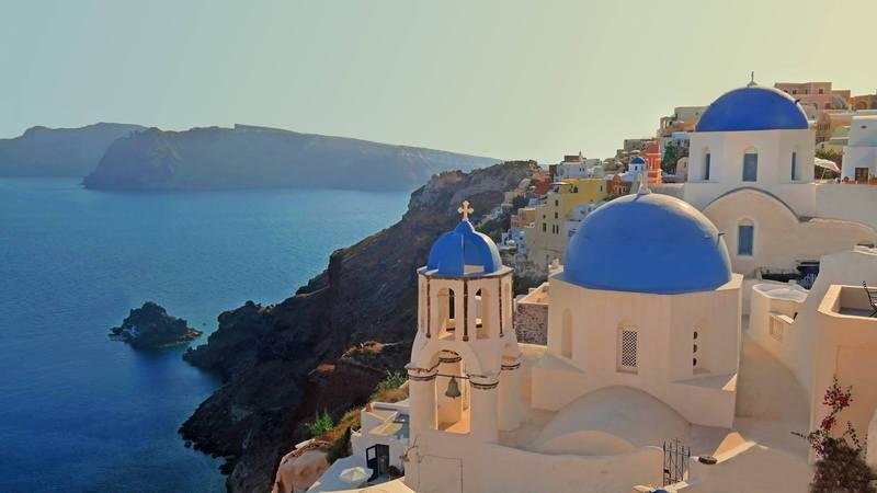 Agios Spyridonas & Anastaseos, Santorini, Greece