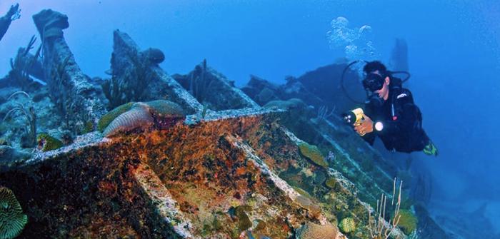 Shipwrecks Diving, Bermuda