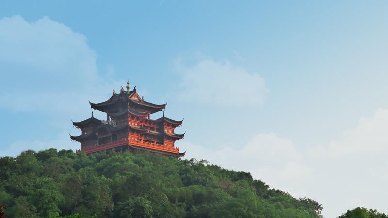 City God Pavilion, Hangzhou, China