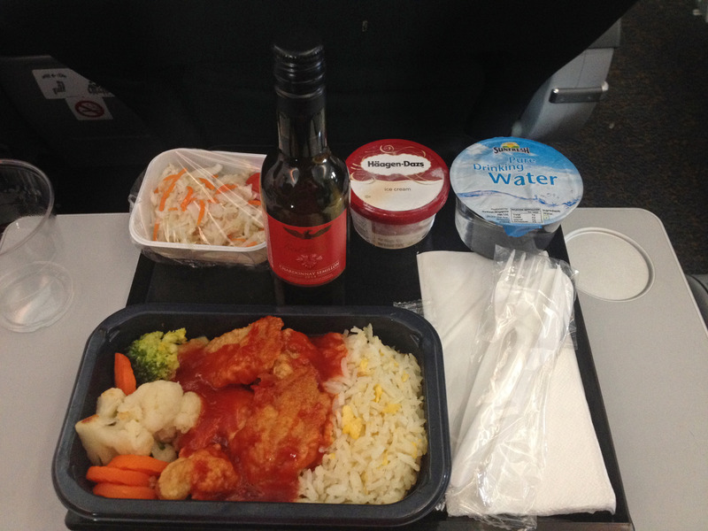 Premium Meal, ScootBiz, 787 Dreamliner