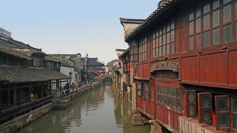 Wuzhen East Scenic Area, Tongxiang, China