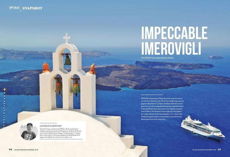 Impeccable Imerovigli - Imerovigli, Santorini, Greece - featured on Aplaus Magazine's December 2015 Edition