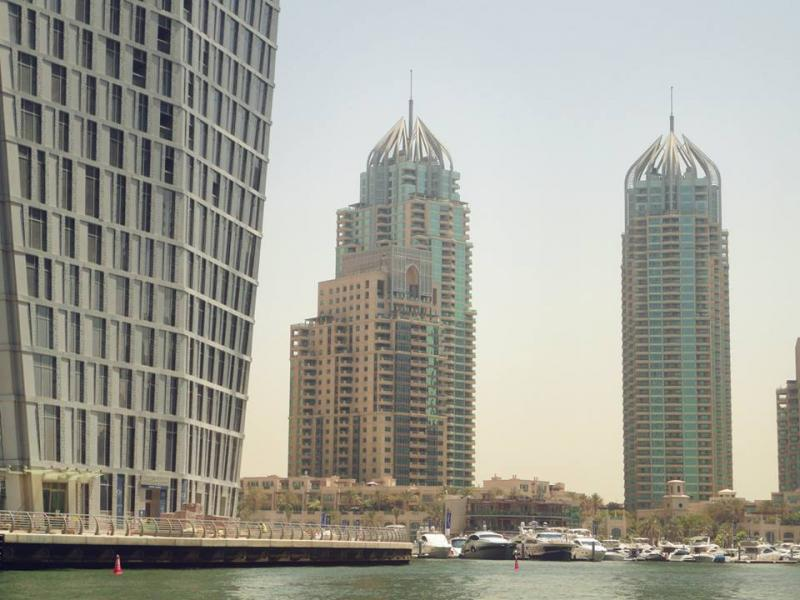 Mesk Tower and Murjan Tower, Marina 1, Dubai, United Arab Emirates