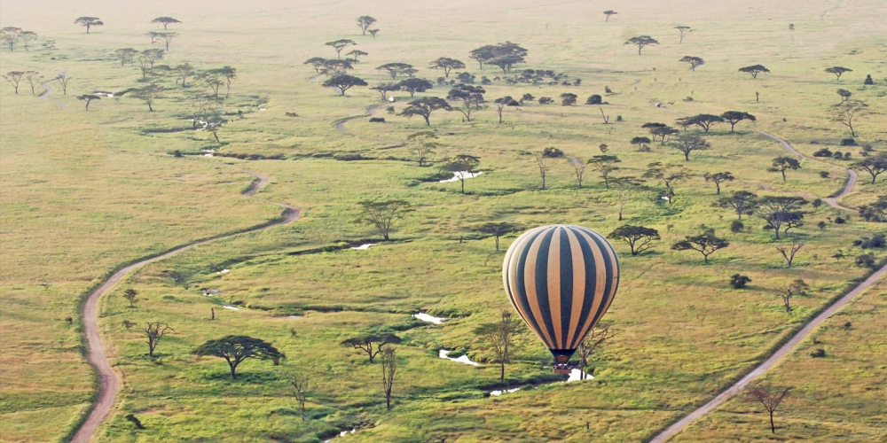 Balloon Safari, Serengeti, Tanzania