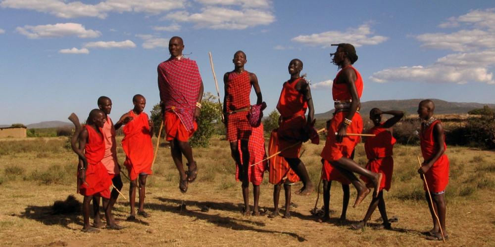 Maasai Adumu Dance, Tanzania